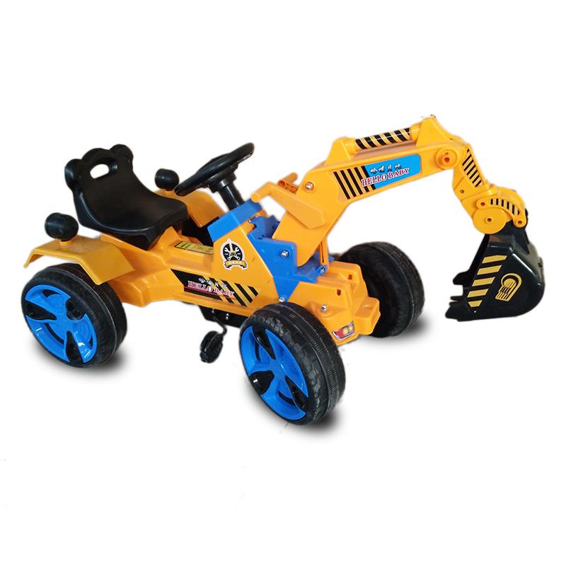 Heißer verkauf baby autos spielzeug elektrische pedal modell fahrt auf kinder bagger für 2 ~ 7 jahre alt kinder