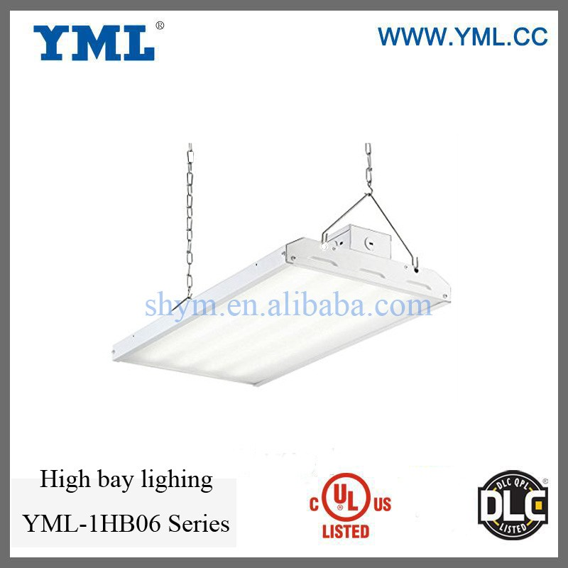 New design 4 feet length high bay clear lens UL DLC approved 320W LED liner High Bay factory Lighting 5 years warranty