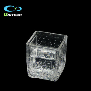 Wholesale price custom clear cheap plastic acrylic cup BPA-free whiskey glass cups made in China