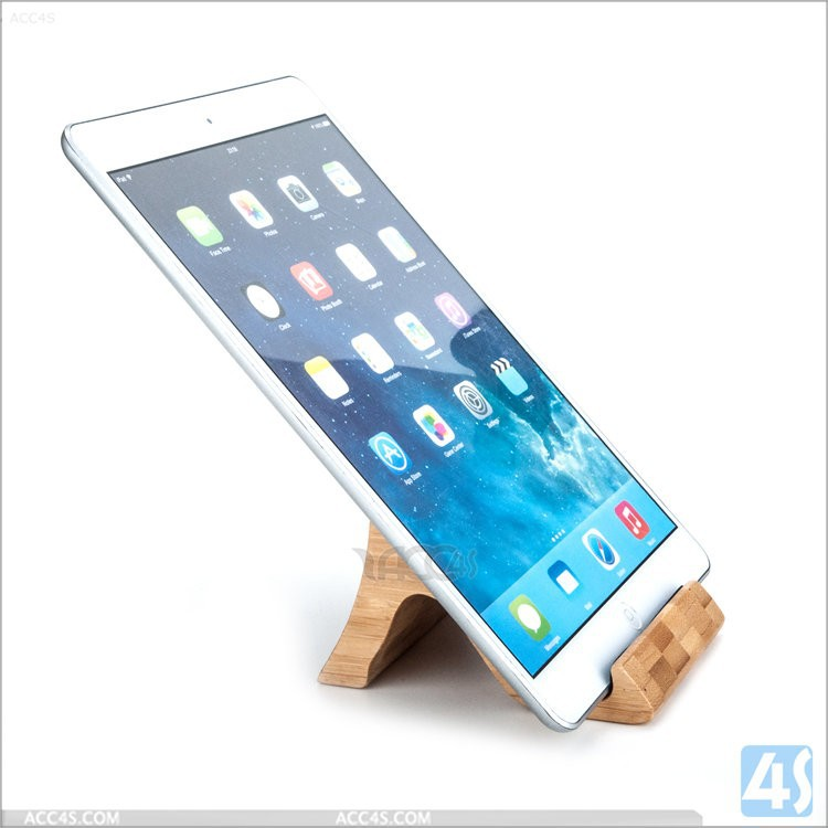 2015 New arrival hot selling tablet holder wood stand for ipad