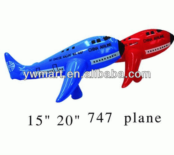 Inflatable 747 Air Plane