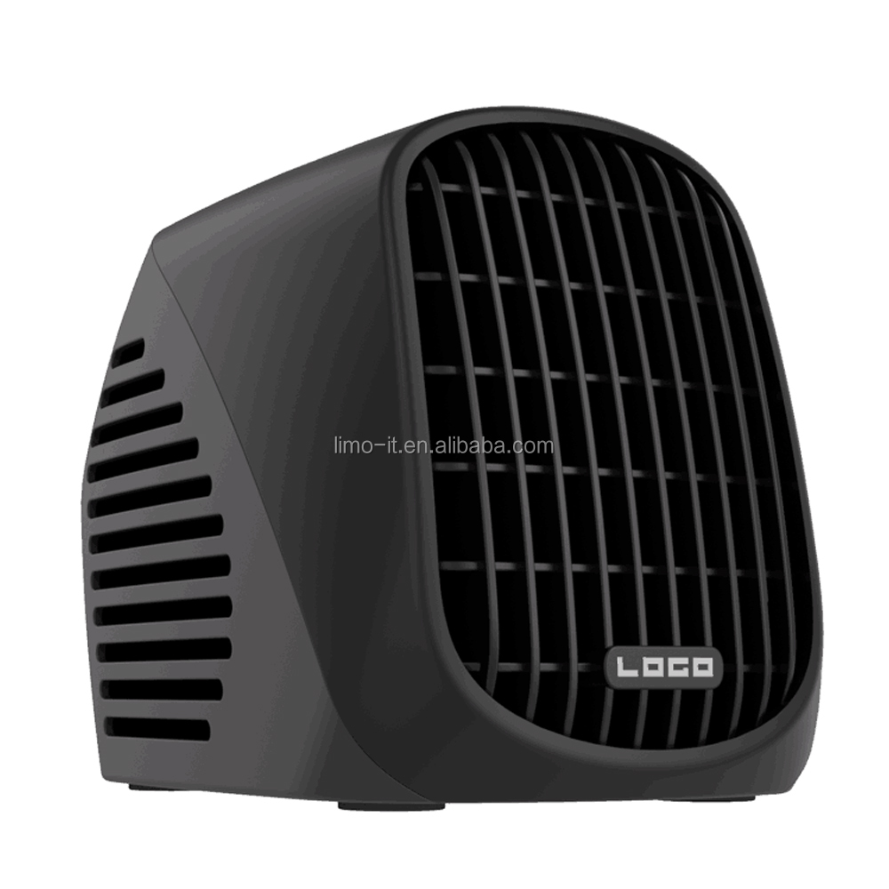Small portable mini turbo electric space heater fan 500W for indoor