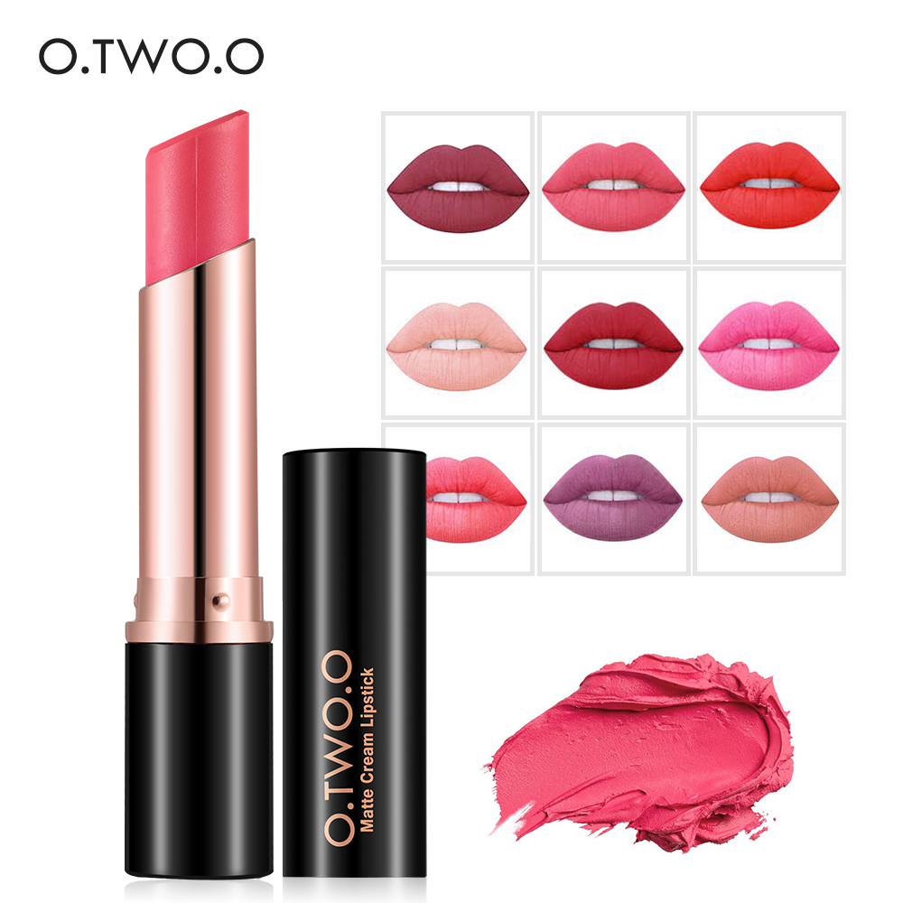 Original make up cosmetics top oem velvet colorful Matte Lipstick