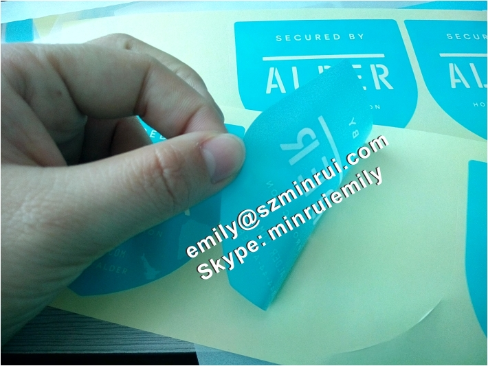 Transparent adhesive labels for window glasses clear adhesive stickers for window glasses for home protecting
