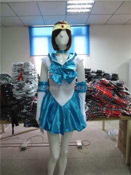 fae34f02c3c Seven colors Sailor Moon dress costume cosplay anime school Girl uniform  Japanese S-2XL