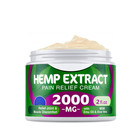 Hemp Cream for Pain Relief - 2000 Mg - Hemp Oil Cream for Sore Muscles & Joint Pain