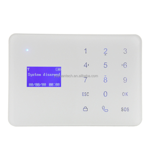 Built-in high volume speaker and artificial intelligent digital voice announcer, Video security alarm system with camera