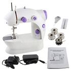 Zogift factory price domestic mini portable sewing machine with table sewing