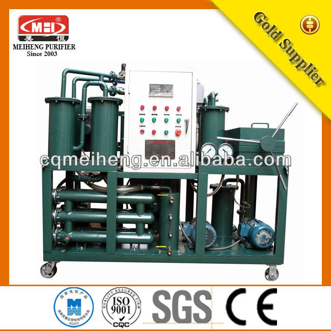 DYJ series High-Efficient Gear Oil Purify Machine with Emulsion Breaking/oil filtration services/oil filtration unit/oil filling