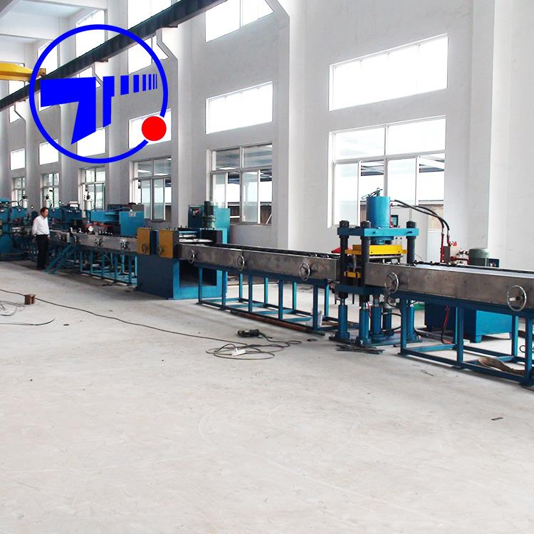 Professional Fully automatic transformer radiator fin panel production line for wholesales