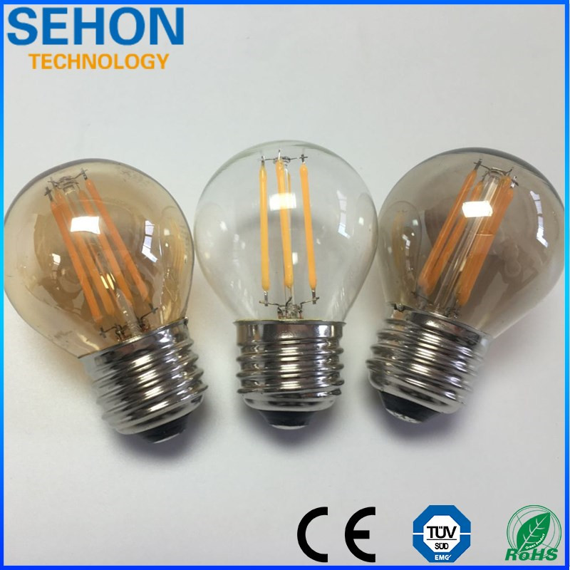 3W Dimmable Led G45 Globe Bulb 240V E14/E27 Led Global Filament Bulbs