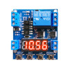 DC 12V High Low Trigger Time Delay Relay Module Timing Relay Voltage Detection Circuit 1 Channel Timer Control Switch 6-30V