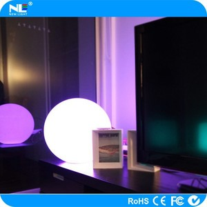 Innovative products for import luminous LED lighting outdoor ball,led crystal magic ball light
