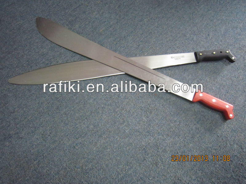 Agricultural machete /hunting tools/ carbon steel camping machete