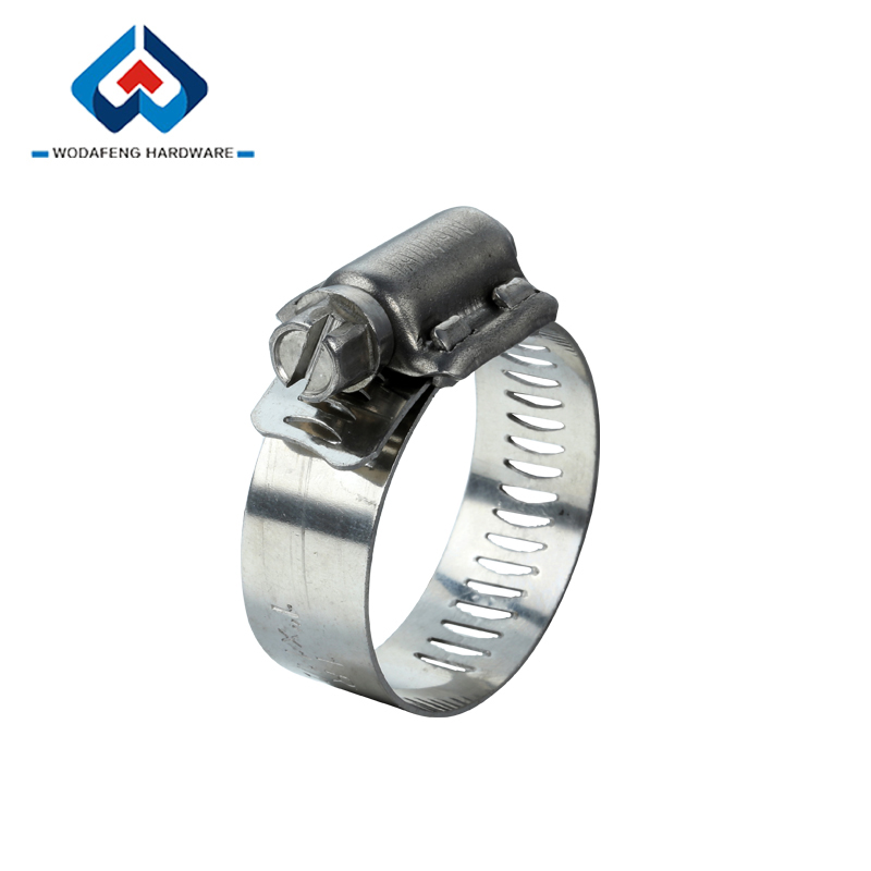 High Torque Worm Drive Different material extra wide hose clamps