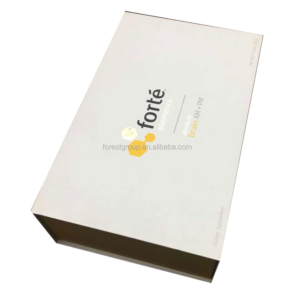 Well Designed cardboard packaging gift box with good printing