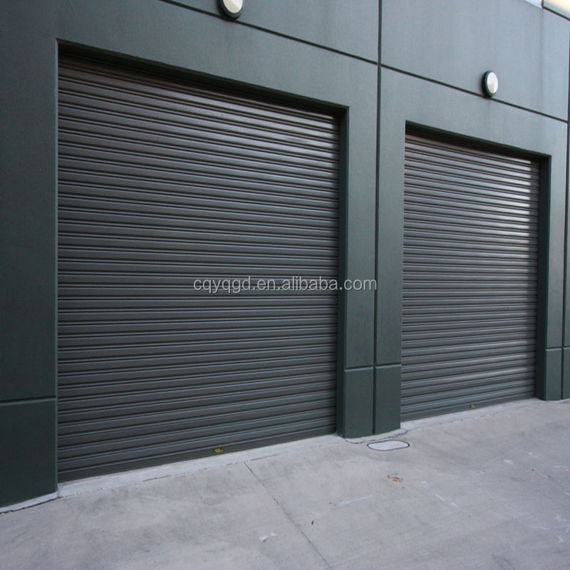 Factory Direct Sale Manual Steel Rolling Shutter Garage Doors