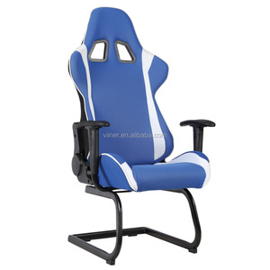Comfortable customer logo printed racing chair with lumbar support WN-1015