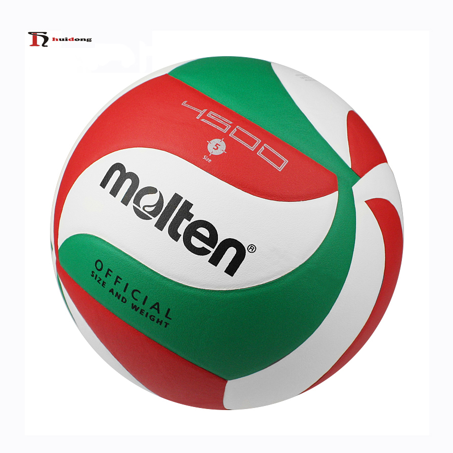 Molten V5M4500 Official Size Weight Superfine PU Charms Gifts Match Molten Volleyball
