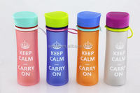 Top quality promotional dimensions filter water bottle