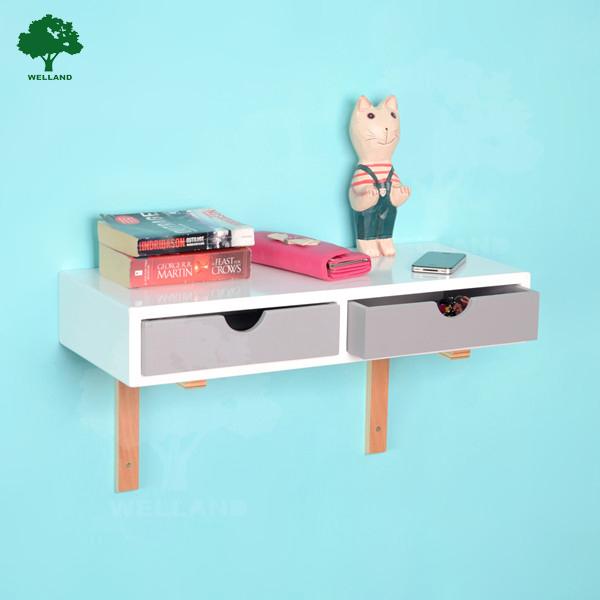 tag re murale en bois avec tiroir buy product on. Black Bedroom Furniture Sets. Home Design Ideas