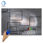 1.3-2B1 Durable Dry Erase Board Game Mat Tabletop Role Playing Map Rpg Gaming Mat