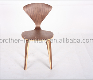 norman cherner replica dining chair bent plywood cherner side dining chair