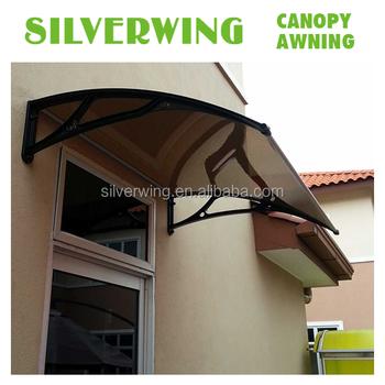 Diy Aluminum Door Canopy Metal Frame Window Awning Rain Shelter ...