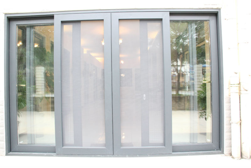 Aluminium profile sliding door balcony french doors buy for Sliding double doors