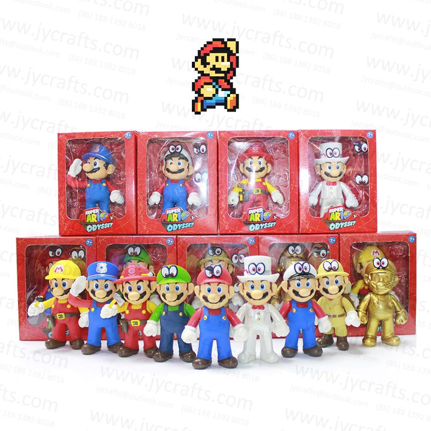 Mario Super Mario Bros USA SELLER Custom New In Package Minifigure