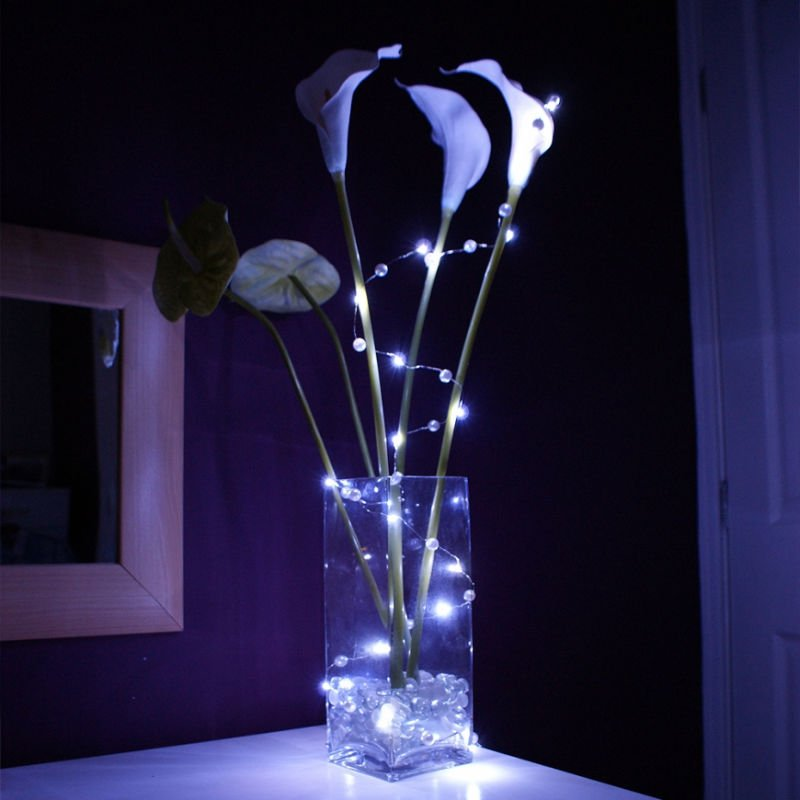 Home Party Beauty Plant Decorative Battery Operated Mini Led ...
