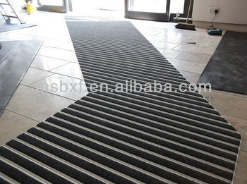 Aluminium Entrance Mats With Carpet Inserted Commercial