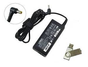 Bundle:2 items - Adapter&Power Cord/ Free USB Drive;Acer 19V 3.42A 65W Replacement AC adapter for Acer Notebook Models: Acer Aspire Timeline 4810TZ-4183, Acer Aspire Timeline 4810TZ-4474, Acer Aspire Timeline 4810TZ-4696, Acer Aspire Timeline 4810TZG, Acer Aspire Timeline 5810T, Acer Aspire
