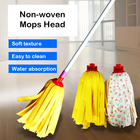 Great Household Product Water Absorption Soft Durable Practical Cleaning Floor Home Cleaning Non-woven Dust Mop Head Replacement