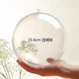 Large Clear Plastic Ball Christmas Craft Gift Large Clear Plastic Ball 200mm