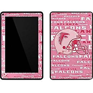 NFL Atlanta Falcons Kindle Fire Skin - Atlanta Falcons - Blast Pink Vinyl Decal Skin For Your Kindle Fire