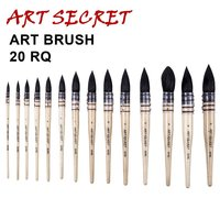 High quality 20RQ squirrel hair painting watercolor drawing pens painting brushes