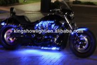 6pc Led Motorcycle Accent Light Kit With Multi-function Remote ...