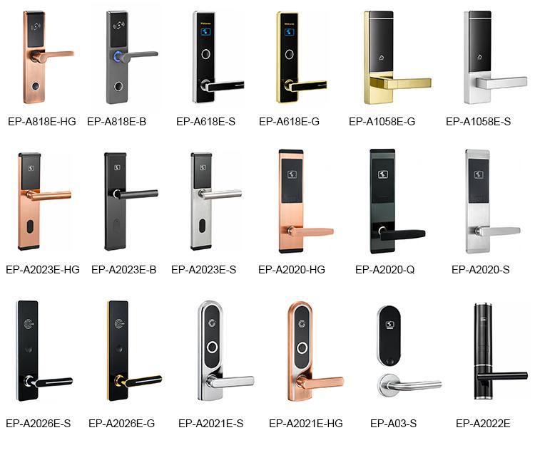 Digi RF IC Key Card Hotel Door Lock Set With Encoder And Software
