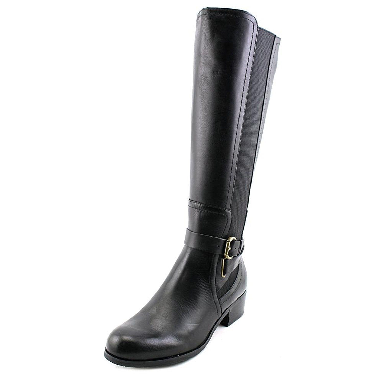 d9a1395ee5482 Get Quotations · Corso Como Baylee Wide Calf Women Round Toe Leather Knee  High Boot