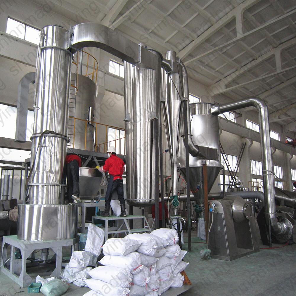 Tatlı patates flaş kurutma/manyok Nişastası işleme makinesi/nişasta flaş kurutma