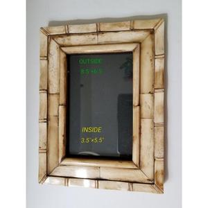 Picture Photo Frame Bone Mosaic~~Photo Size 4X6 & 5x7