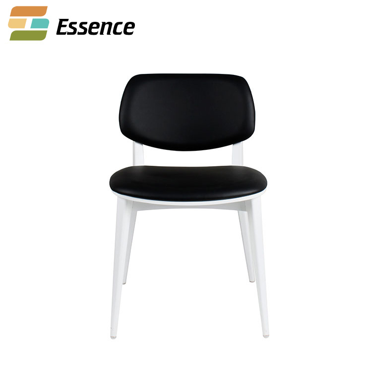 beech wood vinyl seat Comfortable wood dining chair