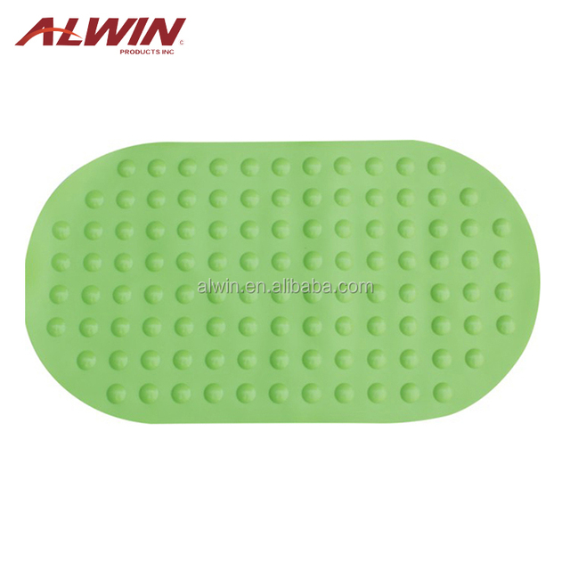 best selling green curved bath mat baby