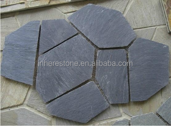 Cheap slate courtyard road pavers floor covering stone
