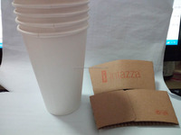 New Products Disposable Paper Cup Sleeves Coffee Paper Sleeves