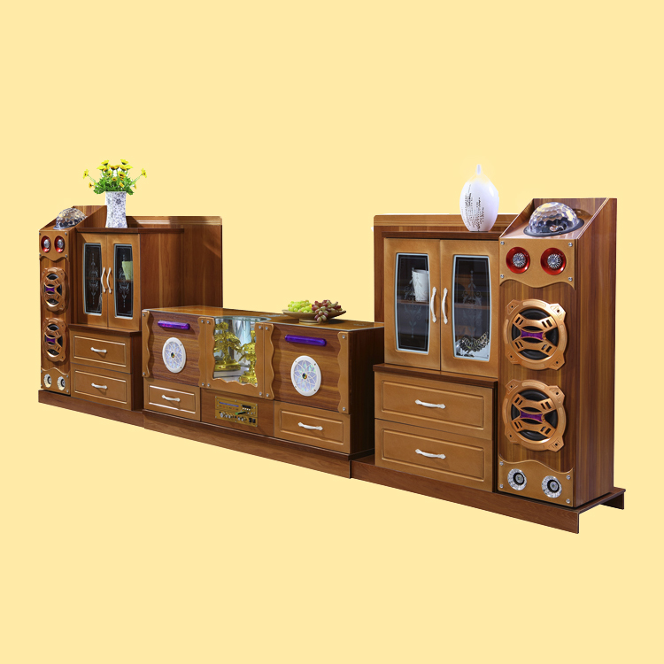 2017 new design smart USB connectio wholesale furniture tv cabinet
