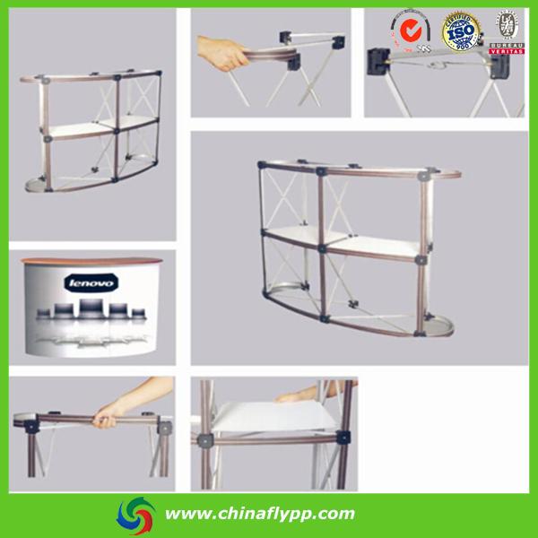 Standing Desktop Table Promotion Folding Table Aluminum Domino ...