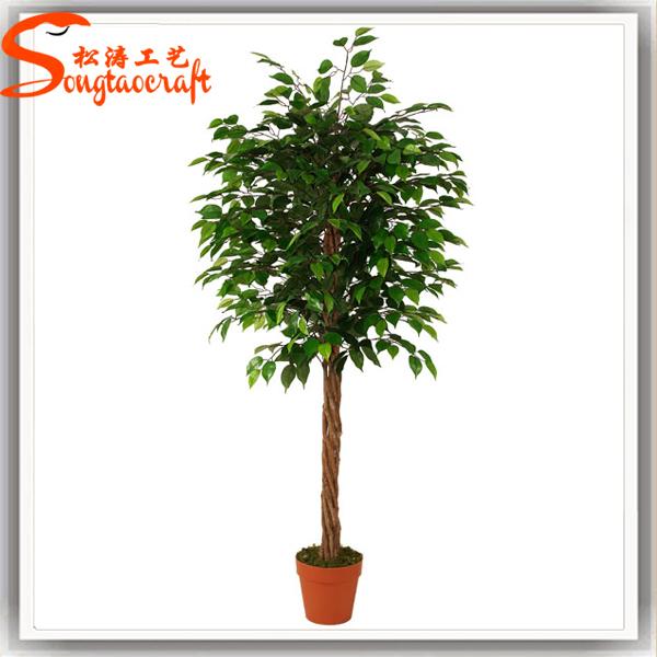 Guangzhou Cheap Artificial Banyan Tree Bonsai Topiary Small Mini ...