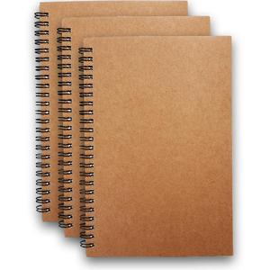 2019 Office supplies promotional recycle brown paper kraft notebook